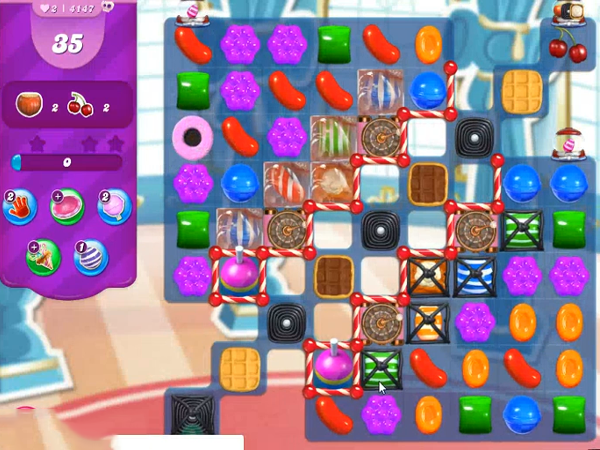 Candy Crush Saga Level 4147