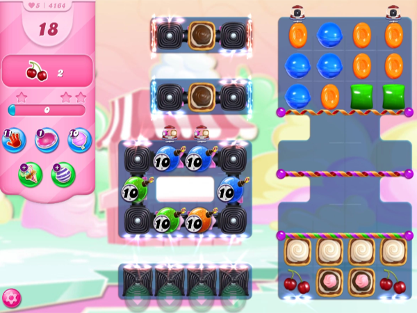 Candy Crush Saga Level 4164