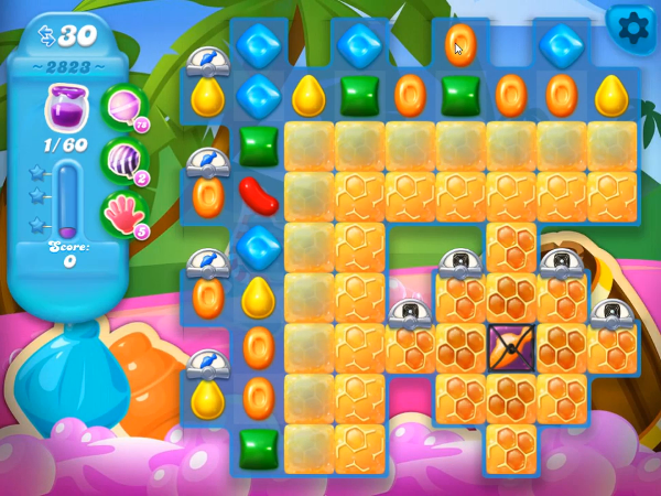 Candy Crush Soda Level 2823