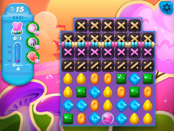 Candy Crush Soda Level 2831